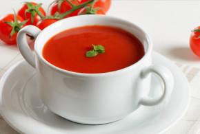 شوربة طماطم سهلة وطعمها رائع