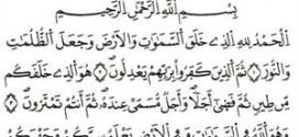 تسلية النبي في سورة الأنعام